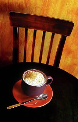 Photograph - Cafe #23099 by Andrey Godyaykin