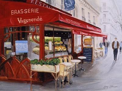 Cafe 4 Art Print by Jay Johnson