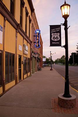 Photograph - Cafe 66 Atlanta by Dylan Punke