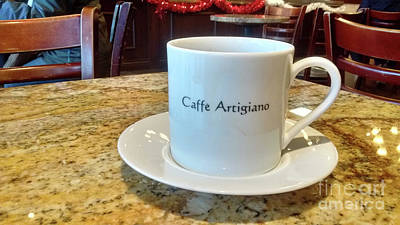 Photograph - Caffe Artigiano by Bill Thomson