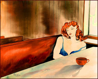 Painting - Cafe Au Lait by Leslie Marcus
