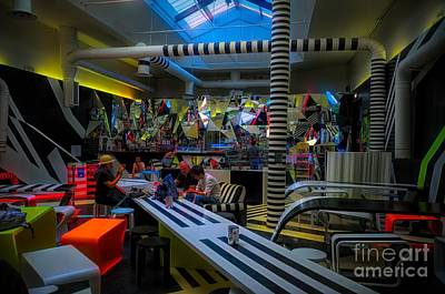 Photograph - Cafe Biennale by Jack Torcello