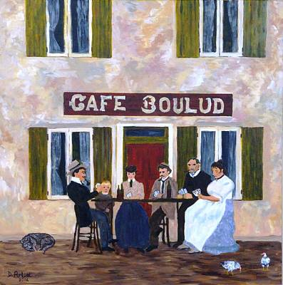 Painting - Cafe Boulud by Diane Arlitt