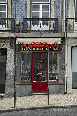 Chocolate Shop Photograph - Cafe Carioca by Rob Hawkins