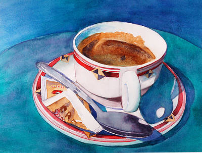 Painting - Cafe Con Leche by Lynne Atwood