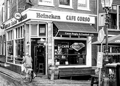 Photograph - Cafe Corso Amsterdam by John Rizzuto
