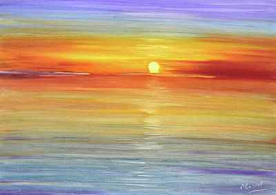 Painting - Cafe Del Mar II by Pete Caswell