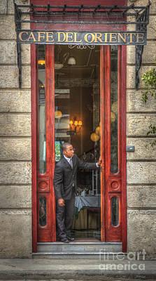 Photograph - Cafe Del Oriente by Craig J Satterlee