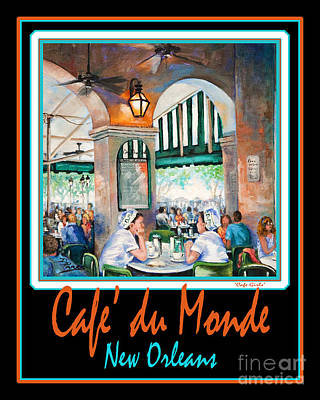 Beignets Painting - Cafe Du Monde by Dianne Parks