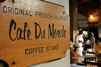 Art Print featuring the photograph Cafe Du Monde by KG Thienemann