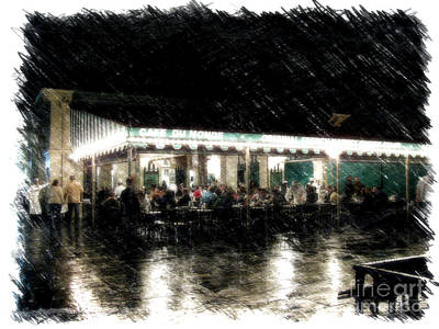 Photograph - Cafe Du Monde by Steven Parker