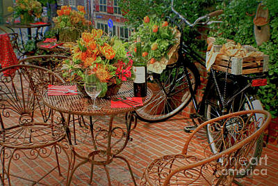 Photograph - Cafe Dutch Style by Sandy Moulder