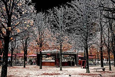 Cafe In Tuileries Original