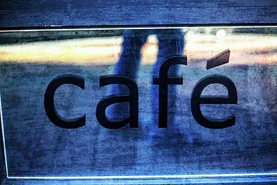 Photograph - Cafe by Karol Livote