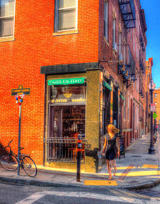 Photograph - Cafe Little Italy by Jeff Stallard