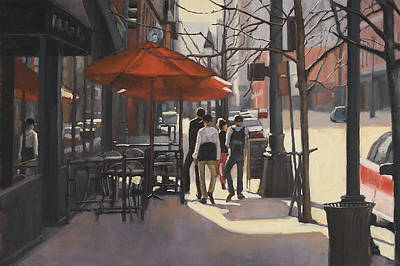 Painting - Cafe Lodo by Tate Hamilton