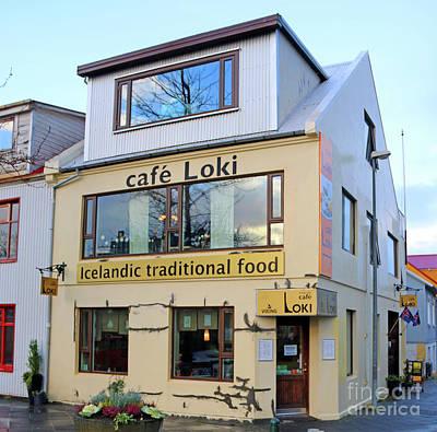 Photograph - cafe Loki Reykjavik Iceland  7222 by Jack Schultz