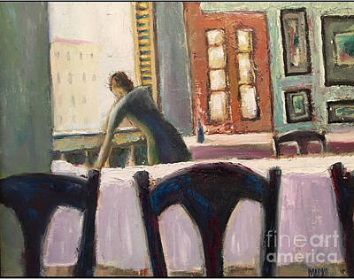 Painting - Cafe' by Mark Macko