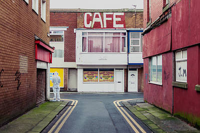 Photograph - Cafe by Nick Barkworth