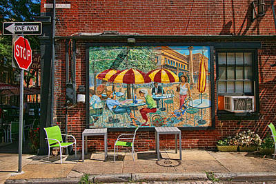 Photograph - Cafe Ole by Allen Beatty