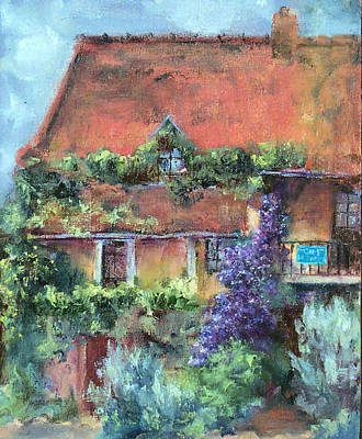 Painting - Cafe Papillon by Jill Musser