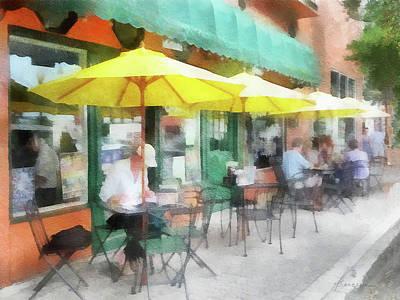 Digital Art - Cafe Pizzaria by Francesa Miller