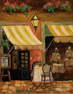 Painting - Cafe Scene by Pati Pelz