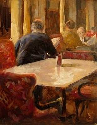 Painting - Cafe Sperl by Andrew Judd