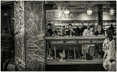Photograph - Cafe by Stewart Marsden