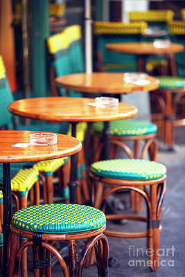 Photograph - Cafe Style by John Rizzuto