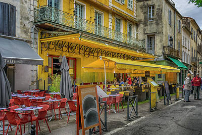Photograph - Cafe Terrace Arles France Van Gogh_dsc5797_16 by Greg Kluempers