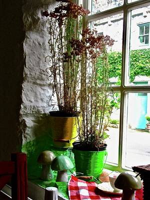 Photograph - Cafe Window 1 by Stephanie Moore