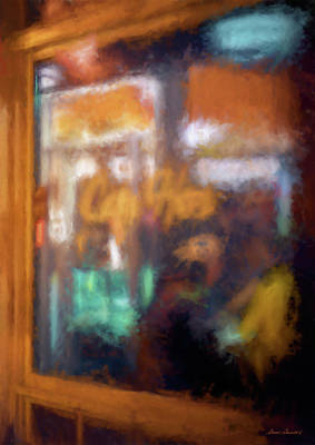 Photograph - Cafe Window by Glenn Gemmell