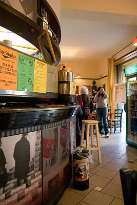 Photograph - Cafedeluxe 1 by Art Ferrier