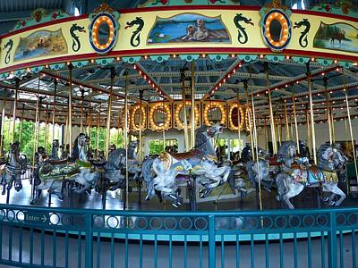 Photograph - Cafesjians Carousel by Will Borden
