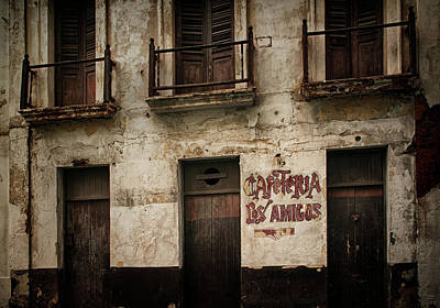 Photograph - Cafeteria Los Amigos by Mick Burkey