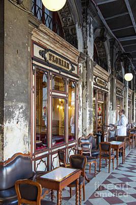 Photograph - Caffe Florian II by Brian Jannsen