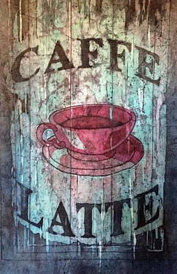 Painting - Caffe Latte by Diane Fujimoto