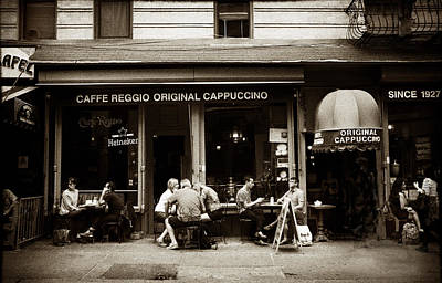 Greenwich Village Photograph - Caffe Reggio Nyc by Jessica Jenney