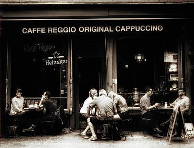 Photograph - Caffe Reggio Scene by Jessica Jenney