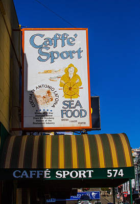 Photograph - Caffe Sport San Francisco by Bonnie Follett