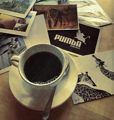 Photograph - Caffeine Correspondence by JAMART Photography