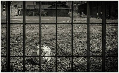 Photograph - Caged Ball by Stewart Marsden