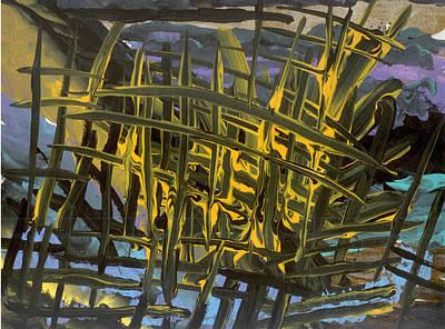 Caged Art Print by Helene Henderson