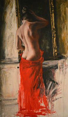 Figurative Painting - Cagionevole by Escha Van den bogerd