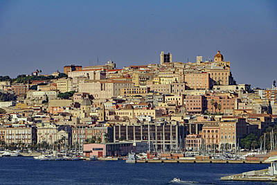 Photograph - Cagliari by Tony Murtagh