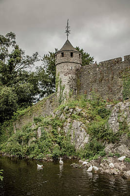 Photograph - Cahir Castle 1392 by Teresa Wilson