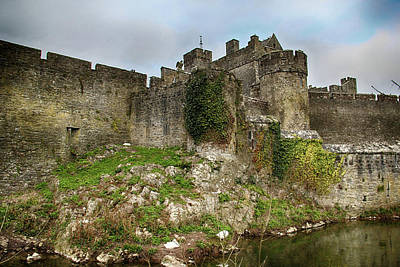 Photograph - Cahir Castle by Marie Leslie