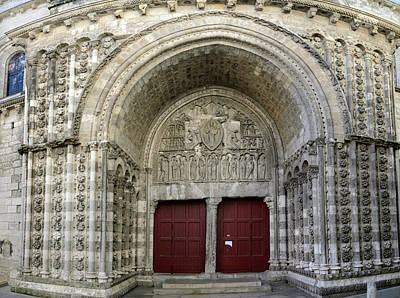 Photograph - Cahors Cathedral Facade Nord by RicardMN Photography