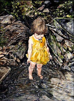 Caice At Otter Creek Art Print by Thomas Akers